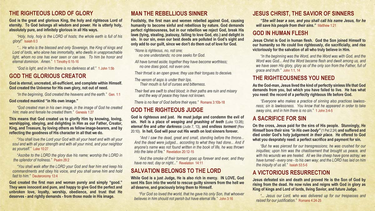 The Gospel of Jesus Christ pg2